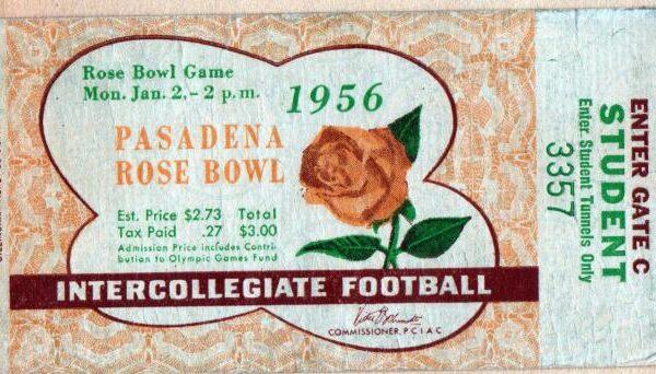 1956-rose-bowl-ticket